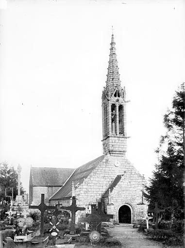 Eglise de Kerfeunteun Ensemble ouest, Durand, Jean-Eugène (photographe),