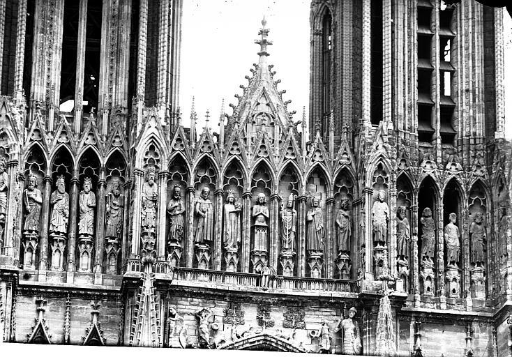 Cathédrale Notre-Dame Portail ouest, Galerie des Rois, Lajoie, Abel,