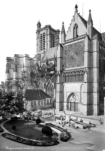 Cathédrale Saint-Pierre Façade sud : Partie ouest et transept, Mieusement, Médéric (photographe),