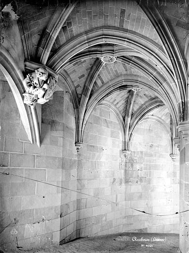 Château Tour des Minimes : Voûte du grand escalier, Mieusement, Médéric (photographe),