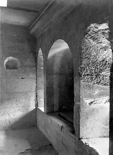 Château Donjon : Couloir du 1er étage, Durand, Jean-Eugène (photographe),