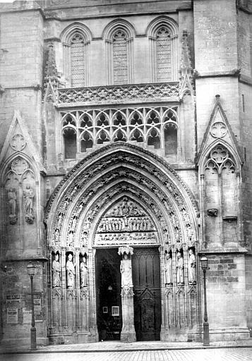 Cathédrale Saint-André Portail du transept nord, Mieusement, Médéric (photographe),