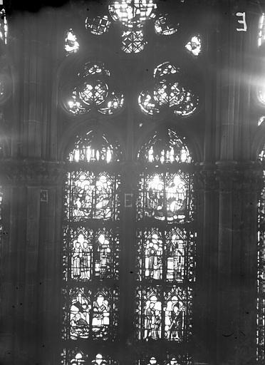Cathédrale Notre-Dame Chapelles du choeur, vitrail E, Gaudin,