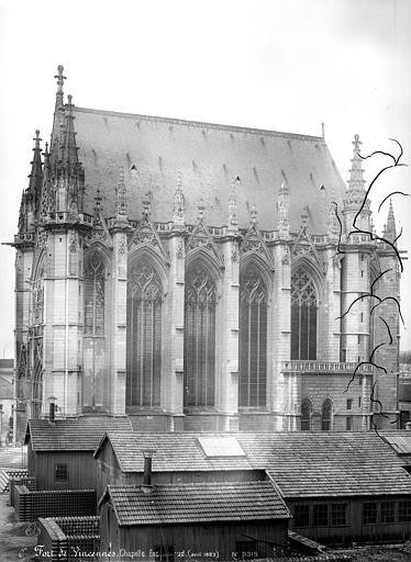 Château Chapelle : façade sud, Mieusement, Médéric (photographe),