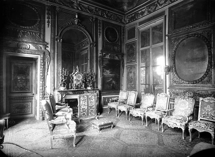 Hôtel de Lauzun ou Hôtel de Pimodan Grand salon, côté de la cheminée, Mieusement, Médéric (photographe),