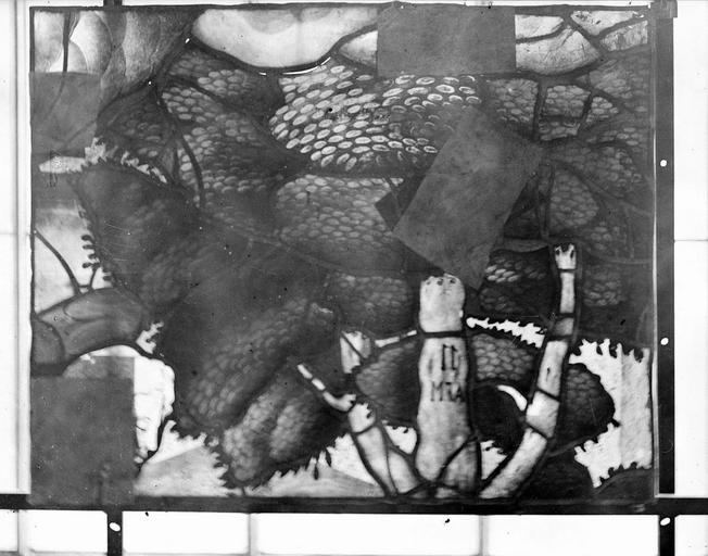 Eglise Vitraux, panneau 13 de la baie G, Nadeau, H. (photographe),