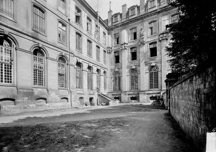 Abbaye aux Hommes (ancienne) Angle, partie, Service photographique,