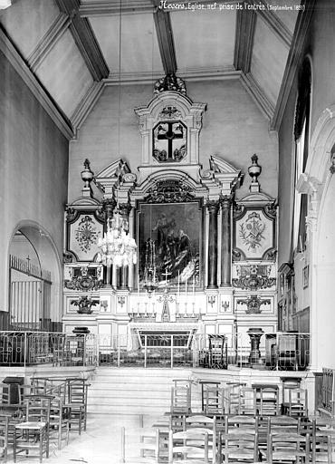 Chapelle des Soeurs de la Charité ; Eglise Sainte-Marie Vue intérieure de la nef, vers le choeur, Mieusement, Médéric (photographe),