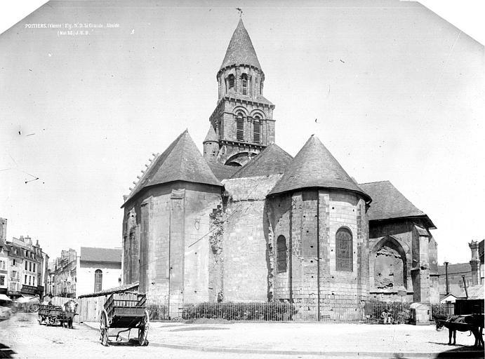 Eglise Notre-Dame-la-Grande Abside, Durand, Eugène (photographe),