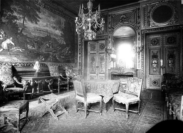 Hôtel de Lauzun ou Hôtel de Pimodan Petit salon côté gauche, Mieusement, Médéric (photographe),
