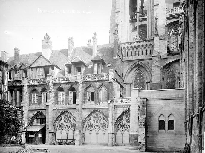 Cathédrale Notre-Dame Salle capitulaire : façade, Mieusement, Médéric (photographe),