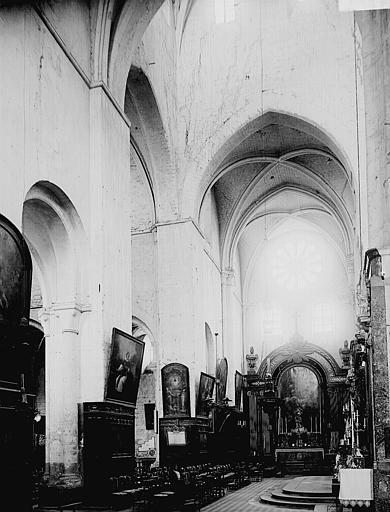 Eglise Saint-Etienne Intérieur, Enlart, Camille (historien),