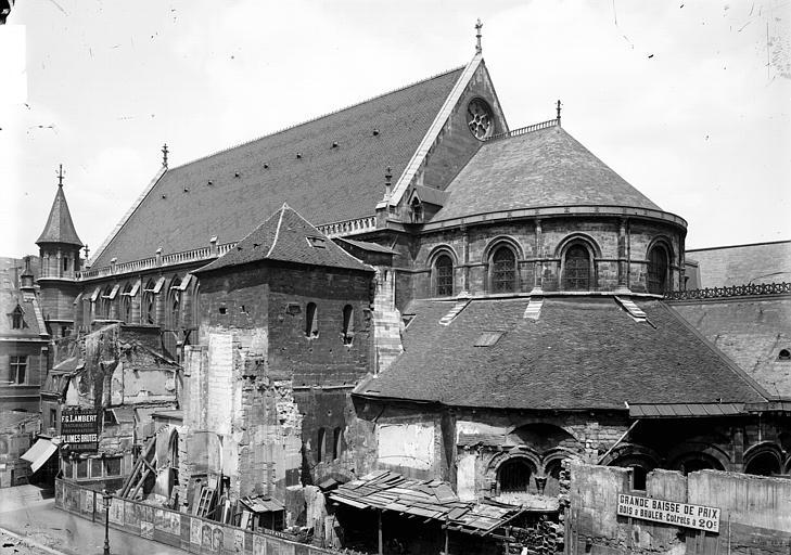 Eglise Saint-Martin-des-Champs Ensemble sud-est, Enlart, Camille (historien),