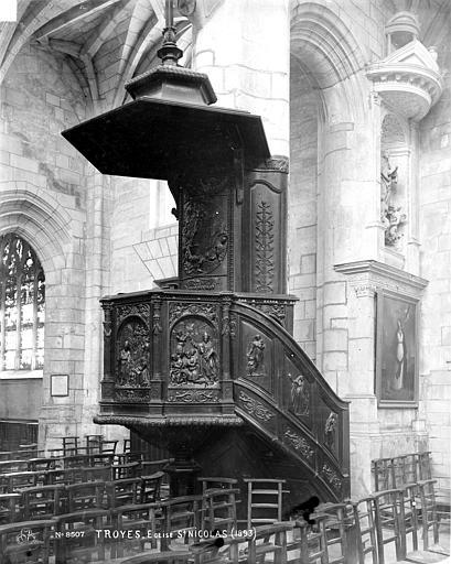Eglise Saint-Nicolas Chaire, Robert, Paul (photographe),