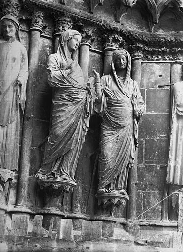 Cathédrale Notre-Dame Portail ouest, La Visistation, Lajoie, Abel,