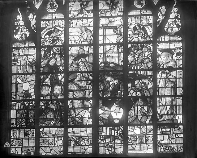 Eglise Notre-Dame Vitrail : Descente de croix, Durand, Jean-Eugène (photographe),