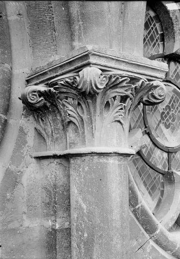 Cathédrale Notre-Dame Chapiteau, Durand, Eugène (photographe),