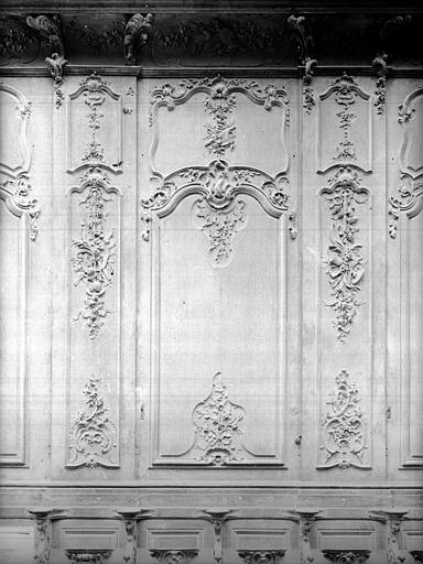 Cathédrale Notre-Dame-de-l'Assomption Stalles, deuxième panneau, Heuzé, Henri (photographe),