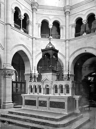 Cathédrale Notre-Dame Maître-autel, Mieusement, Médéric (photographe),