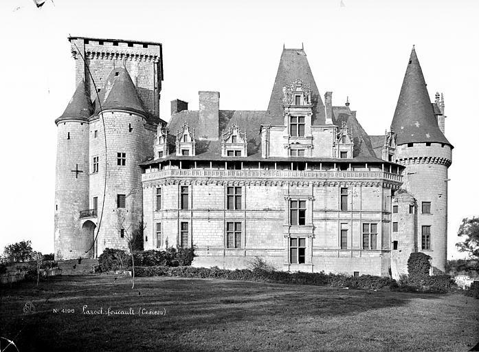 Château Ensemble ouest, Mieusement, Médéric (photographe),