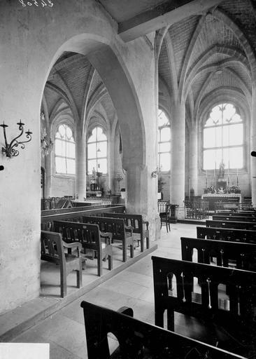 Eglise Choeur, vue diagonale, Service photographique,