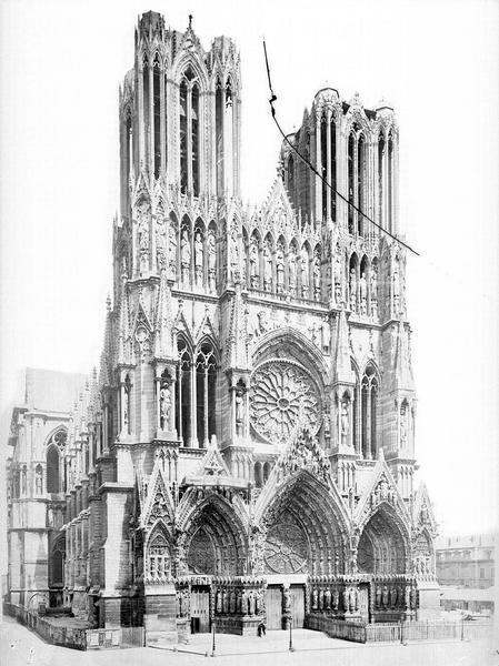 Cathédrale Notre-Dame Ensemble nord-ouest, Mieusement, Médéric (photographe),