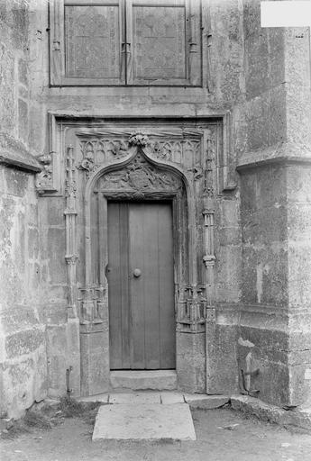 Eglise Petit portail, Durand, Georges (photographe à Amiens),