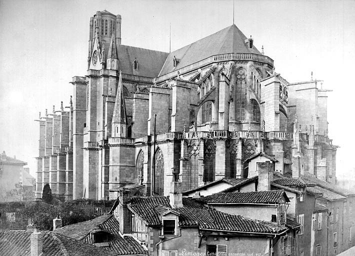 Cathédrale Saint-Etienne Ensemble sud-est, Mieusement, Médéric (photographe),