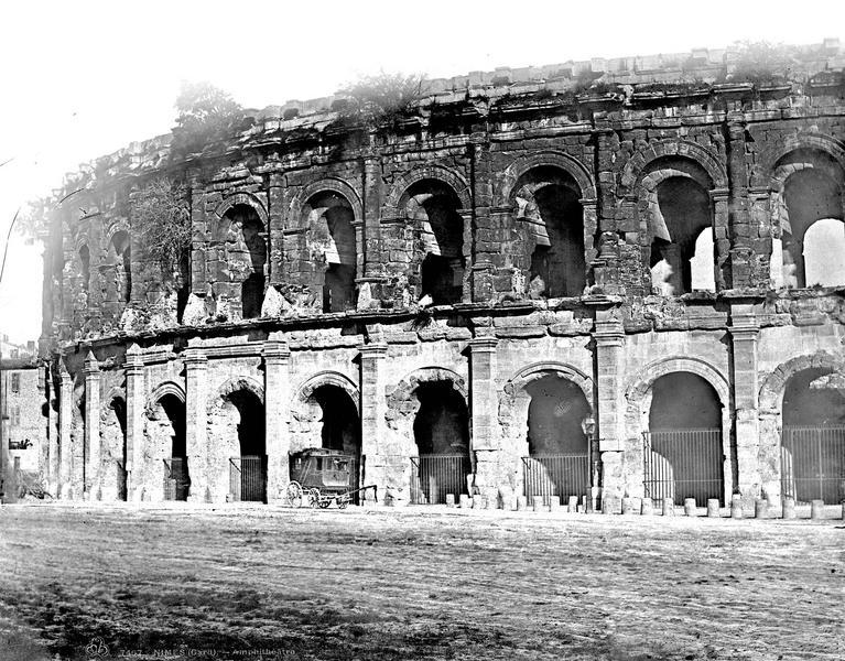 Amphithéâtre , Baldus, Edouard (photographe),