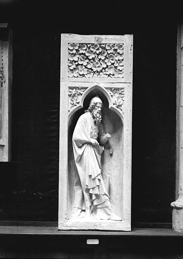 Cathédrale Notre-Dame Façade ouest, paroi intérieure, Enlart, Camille (historien), 75 ; Paris 16 ; Palais de Chaillot (Trocadéro) ; Musée de Sculpture comparée, musée des Monuments français